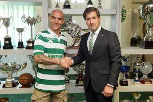 Pedro Gil presentado por el Sporting Clube de Portugal